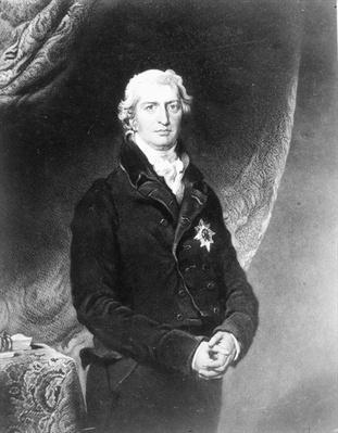 Portrait of Robert Banks Jenkinson, 2nd Earl of Liverpool