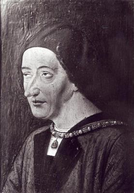 Portrait of Louis XI