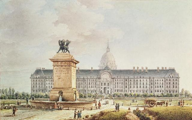 View of the Hotel des Invalides