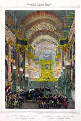 The Arrival of Napoleon's Ashes at L'Eglise des Invalides, 15th December 1840