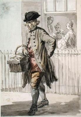 London Cries: A Muffin Man, c.1759