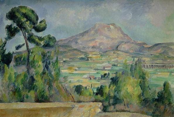 Montagne Sainte-Victoire, c.1887-90