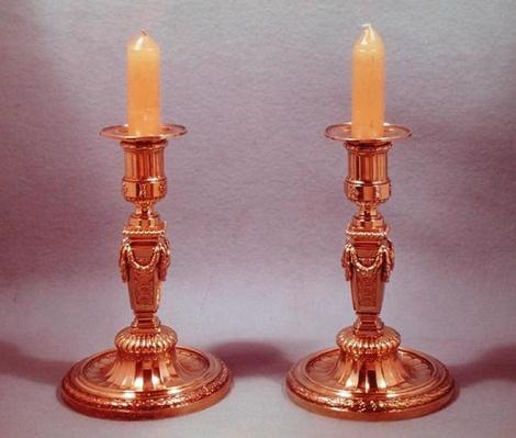 Two Candlesticks