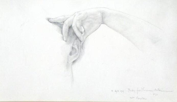 Study for 'Thermaie Antoniniane', 1899