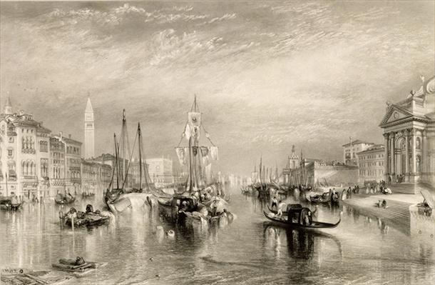 The Grand Canal, Venice, engraved by William Miller
