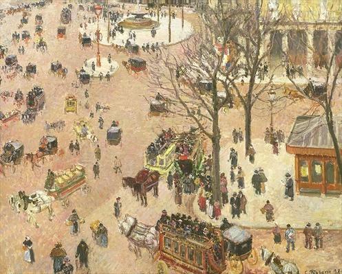 Place du Theatre Francais, 1898
