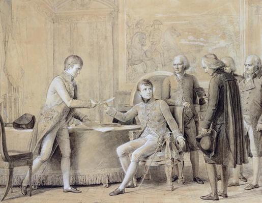 The Signing of the Concordat between France and the Holy See, 15th July 1801