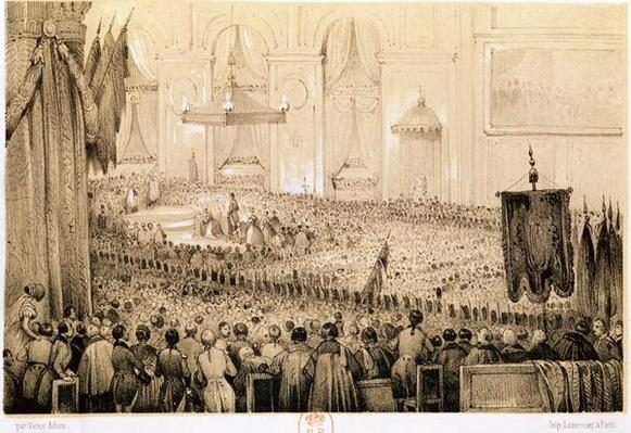 The Re-establishment of the Cult: A Te Deum at Notre-Dame de Paris, 18th April 1802