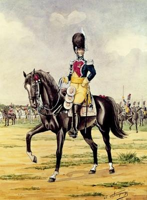 Anne Savary, Duke of Rovigo, Reviewing the Gendarmerie Troops in 1801, 1932