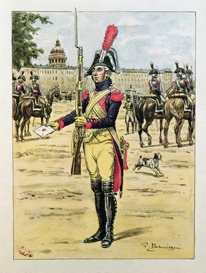 Elite Legion of the Gendarmerie, 1801-02