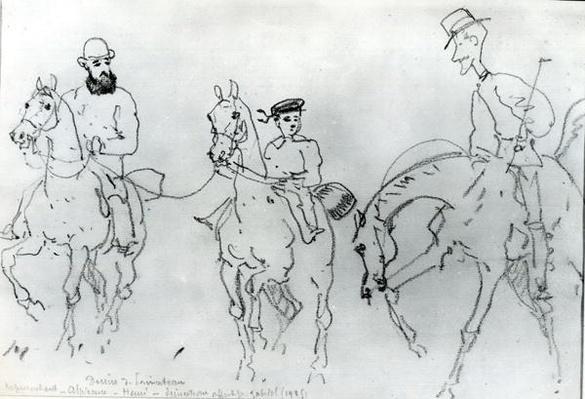 Three Horsemen: Henri de Toulouse-Lautrec