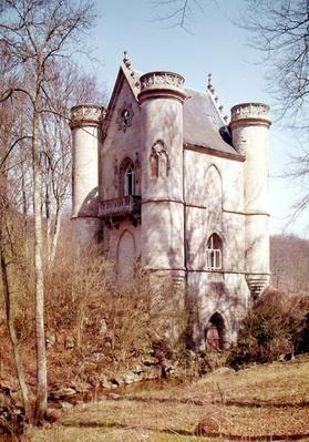 Chateau de la Reine Blanche at the Ponds of Commelles, built by the Duke of Bourbon in 1826
