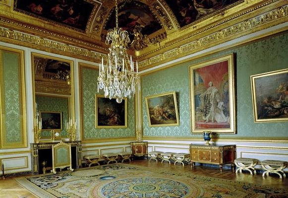 The Salon des Nobles, redecorated in 1785 by Marie-Antoinette