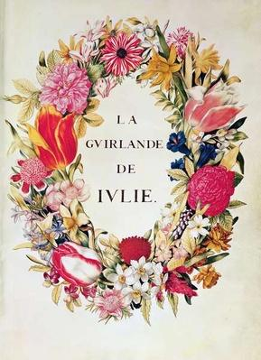Frontispiece of 'La Guirlande de Julie', c.1642