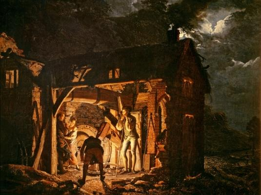 The Iron Forge Viewed from Without, c.1770s