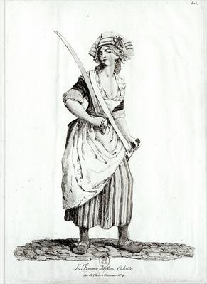 Female Sans-Culotte, 1792