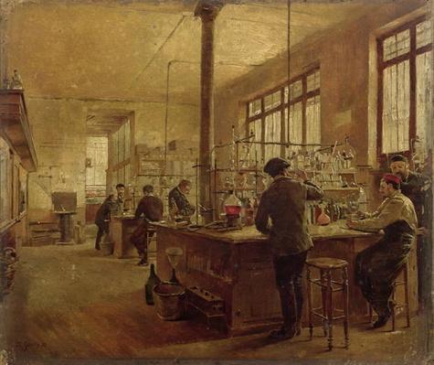 The Laboratory, 1887