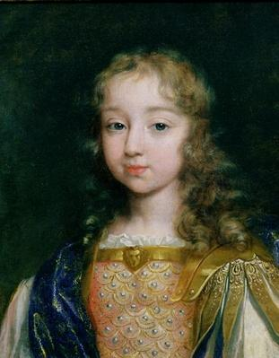 Portrait of Louis XIV as a child