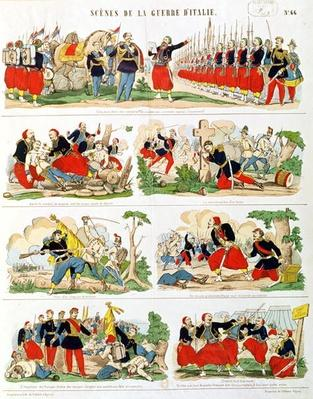 Scenes from the Italian Campaign in 1859