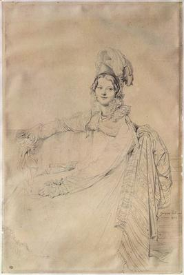 Portrait of Madame Louis-Nicolas-Marie Destouches