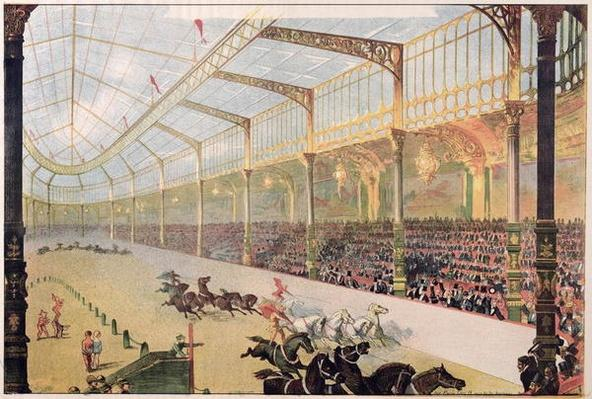 Poster of the Hippodrome de l'Alma