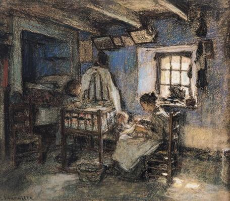 Domestic Interior, Wissant, 1913
