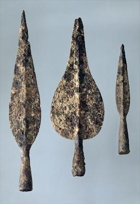 Lance and Javelin Heads, 475-300 BC