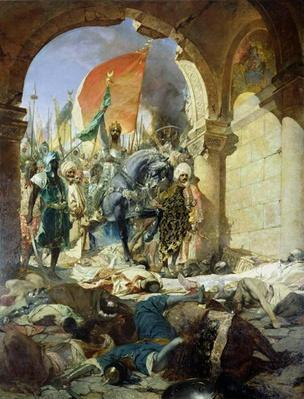 Entry of the Turks of Mohammed II