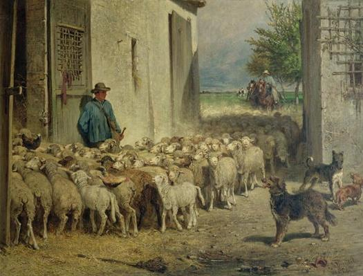 Return to the Sheepfold, 1860