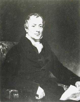 Portrait of David Ricardo