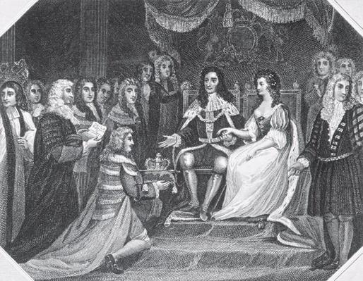 Presentation of the Bill of Rights to William III