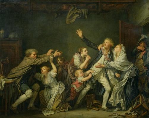 The Father's Curse or The Ungrateful Son, 1777