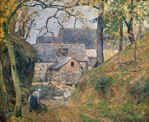A Farm at Montfoucault, 1894