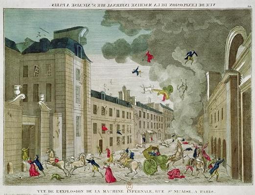 The Attempted Assassination of Napoleon Bonaparte