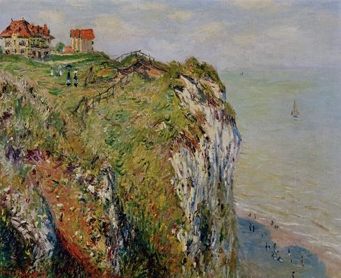 Cliff at Dieppe, 1882
