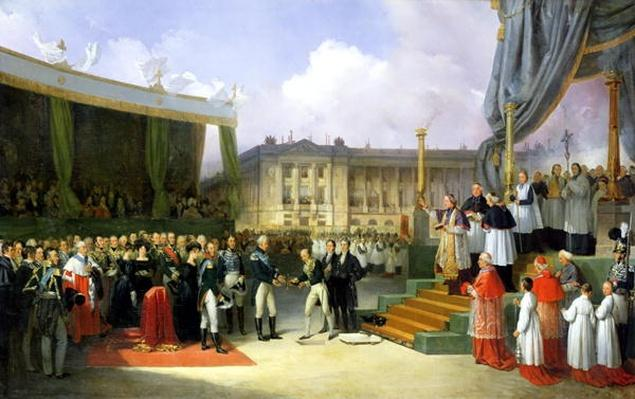 Inauguration of a Monument in Memory of Louis XVI