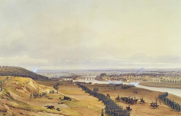 Battle of Montereau, 18th February 1814, 1840