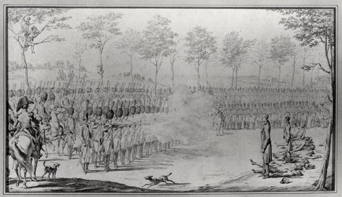 The Execution of General Claude Francois Malet