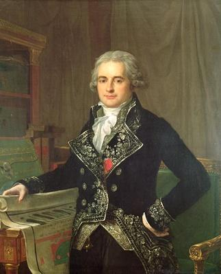 Portrait of Jean Antoine Chaptal