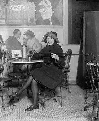 Woman Pours Alcohol from Secret Cane Flask | Ken Burns: Prohibition