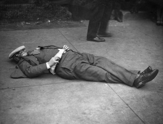 "The Body of Earl ""Hymie"" Weiss 