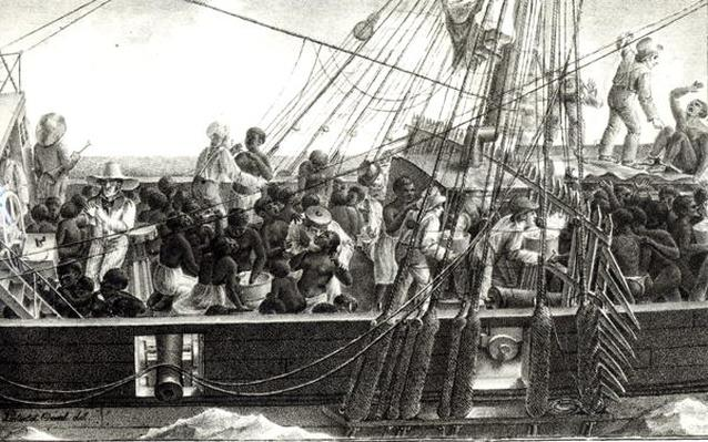 Transport of Slaves in the Colonies