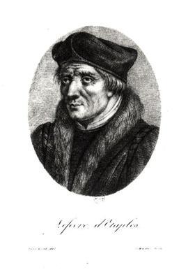Portrait of Jacques Lefevre d'Etaples