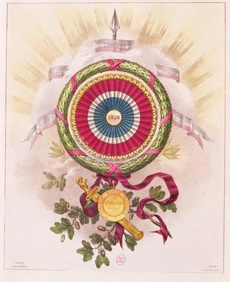 Cockade, emblem of 1848