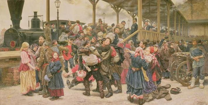 Departing for the War, 1888