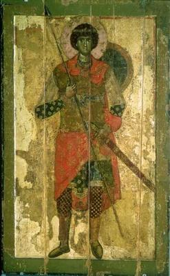 Icon of St. George, 1130-50