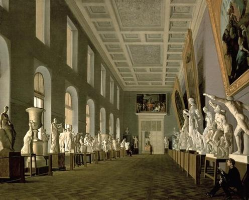 The Antiquities Gallery of the Academy of Fine Arts, 1836