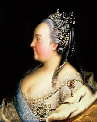 Portrait of Elizabeth Petrovna