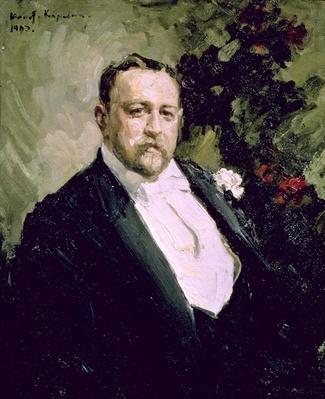 Portrait of Ivan Morosov