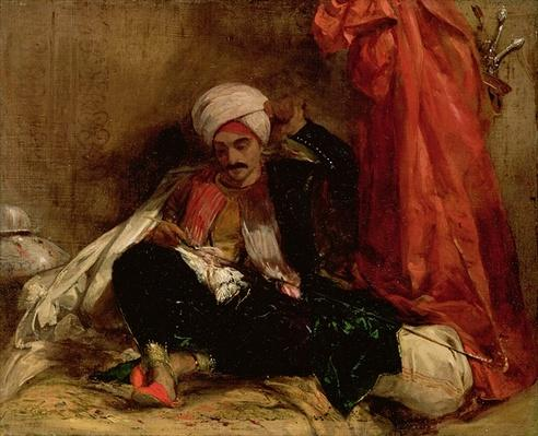 A Seated Turk, 1826
